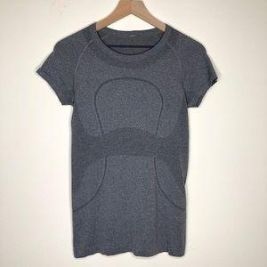 Lululemon Swiftly Tech Grey Short Sleeve Tee Shirt